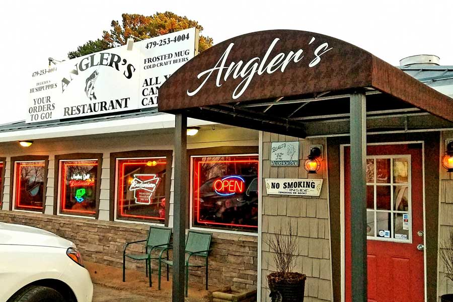 anglers restaurant and grill eureka springs