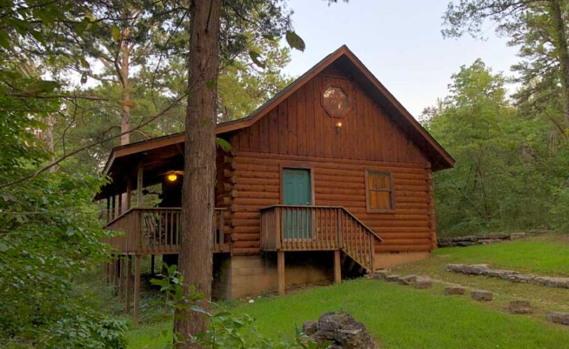 eureka springs family cabin in the woods