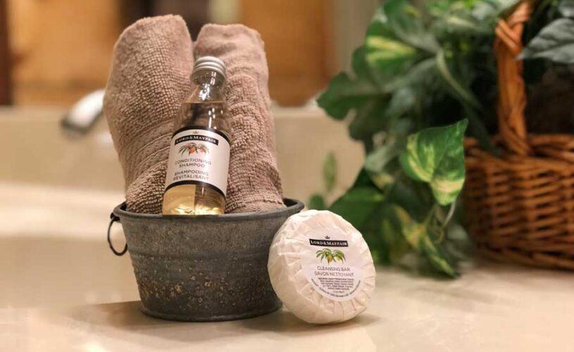 hideaway cabin soap