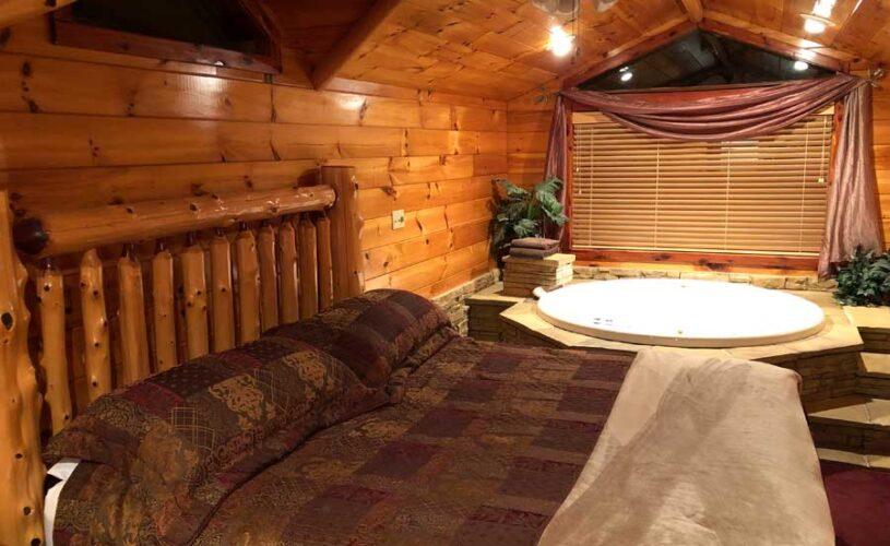 hilltop hideaway cabin loft