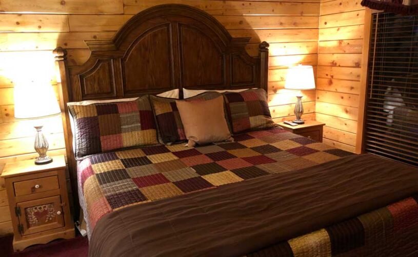 mountain top cabin 3 king bed